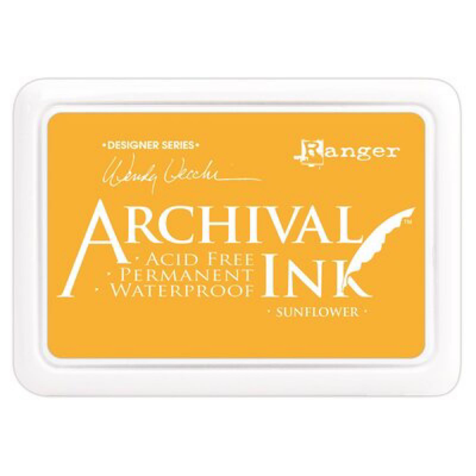 Ranger archival ink - Sunflower.