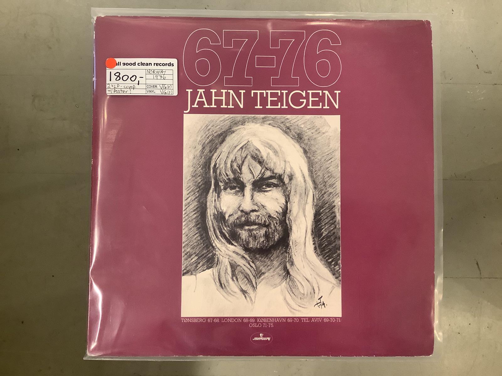 Jahn Teigen - 67-76 [2xLP] (2. hand)