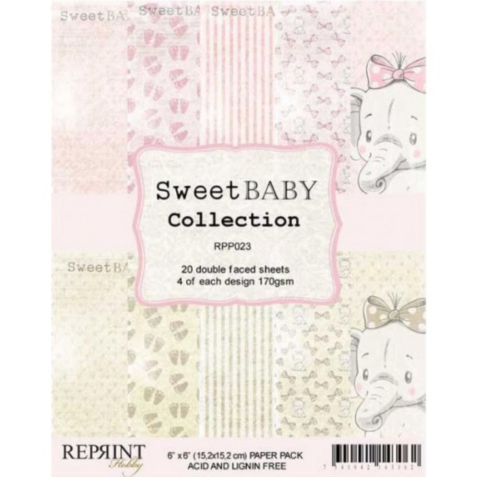 Reprint  Sweet baby collection 12´x12´