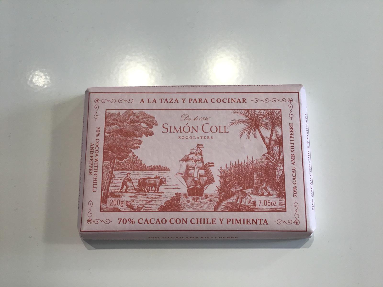 SIMON COLL chili