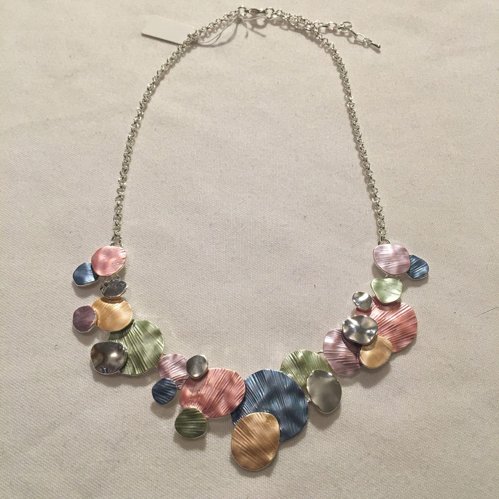 Disc Necklace - Multicoloured