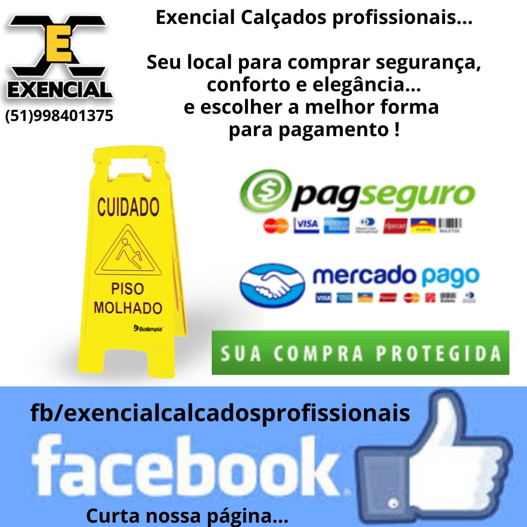 EXENCIAL CALÇADOS PROFISSIONAIS