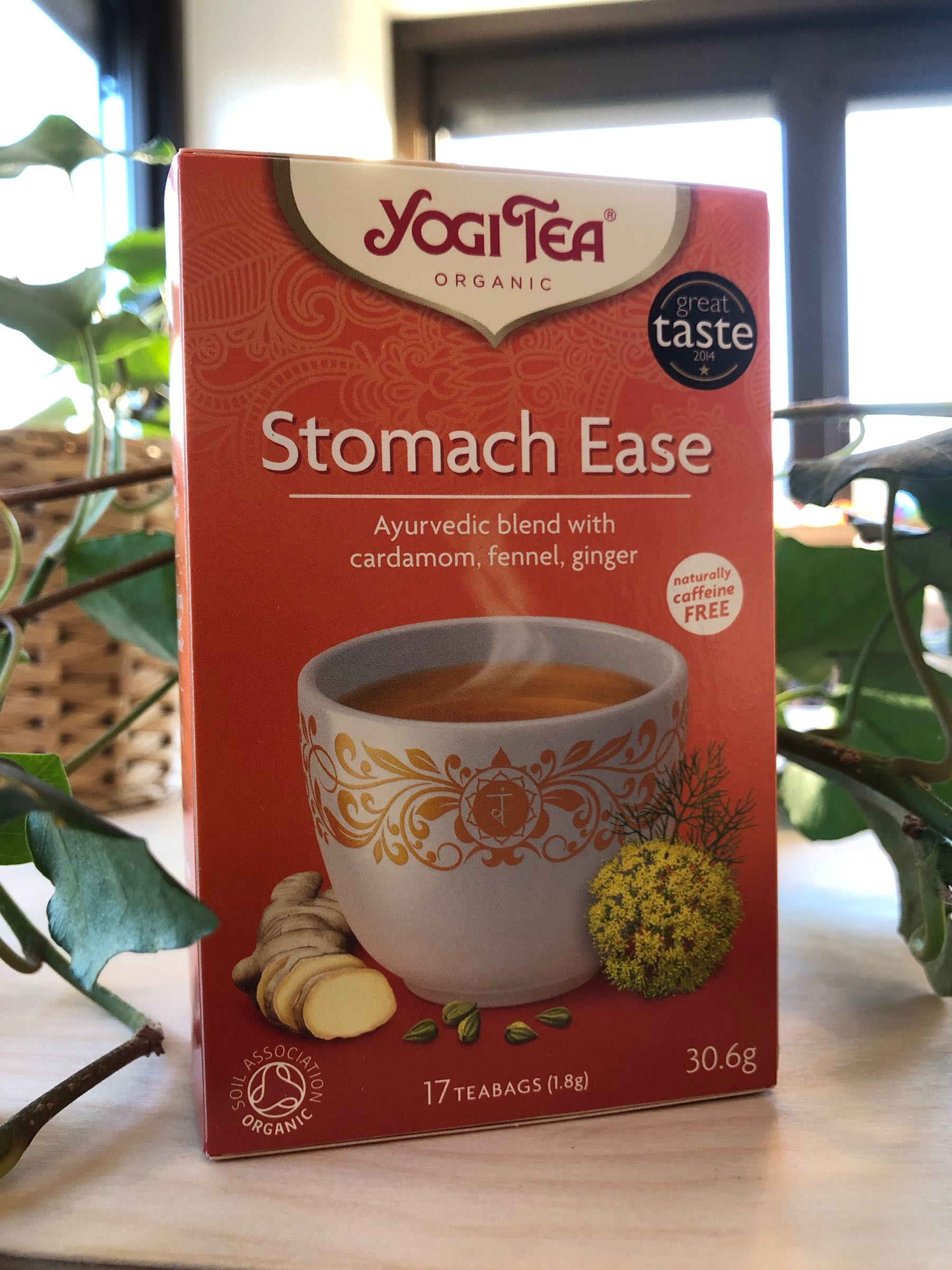 Stomach ease Yogi Te