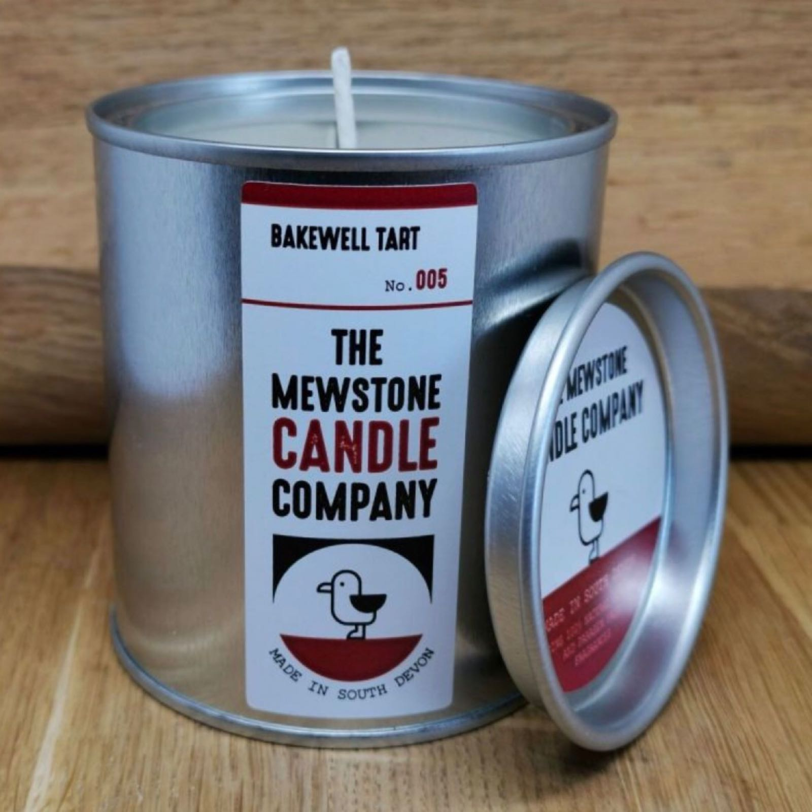 Bakewell Tart Paint Tin Candle