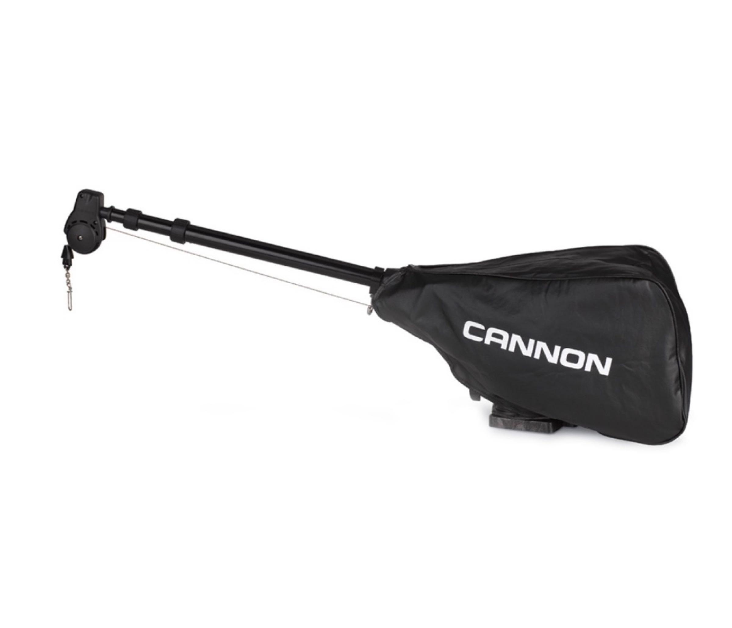 Cannon Downriggertrekk, svart