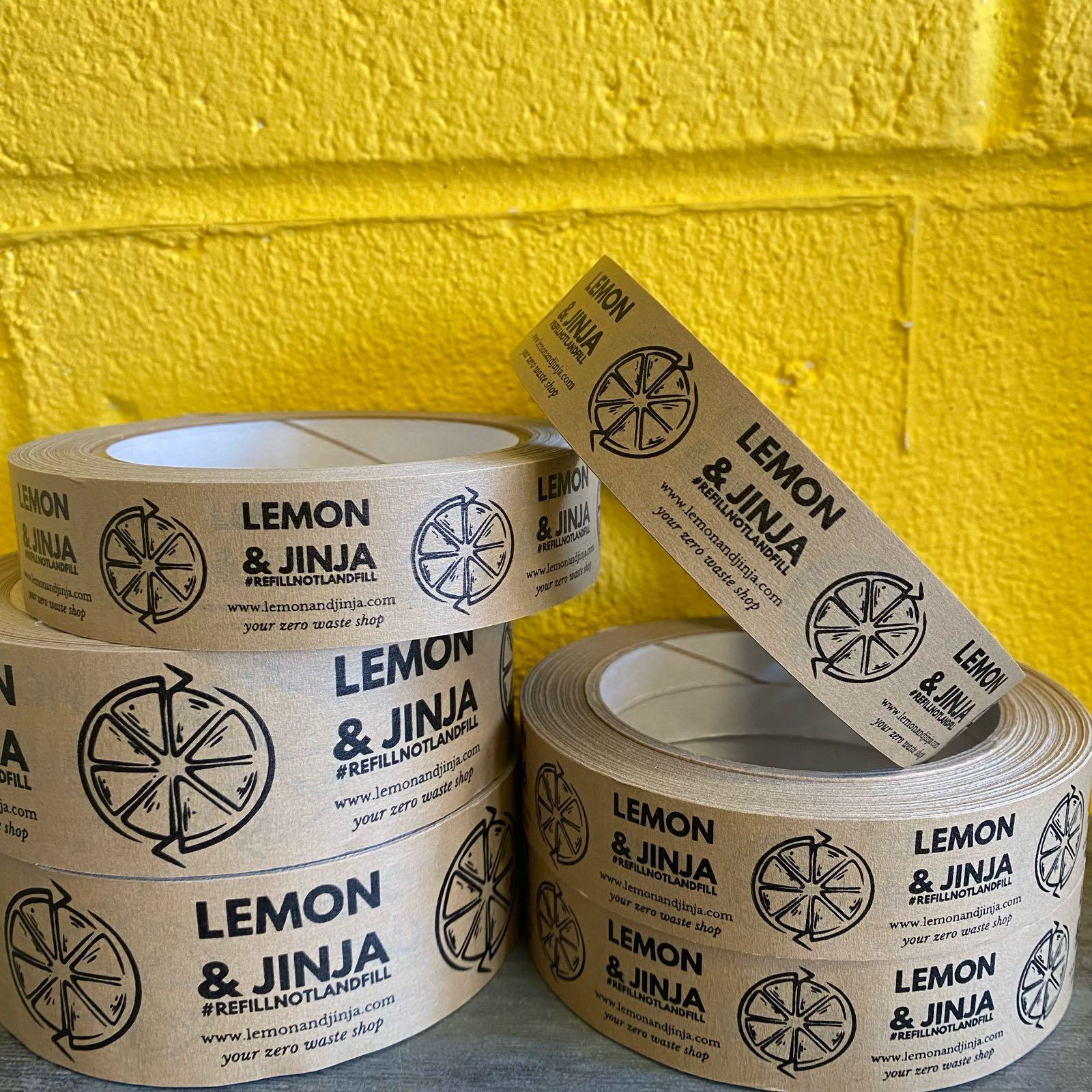 Lemon & Jinja Print Paper Tape