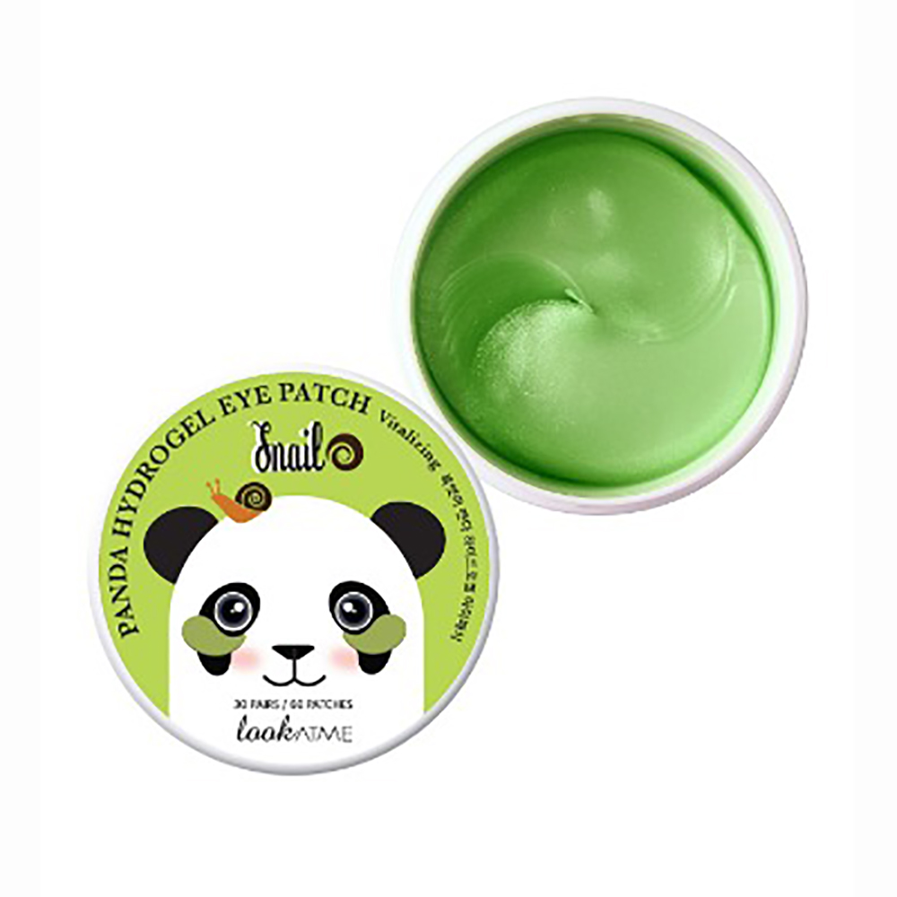 LOOK AT ME PANDA HYDROGEL EYE PATCH SNAIL 60 STK (SPAR 50%)