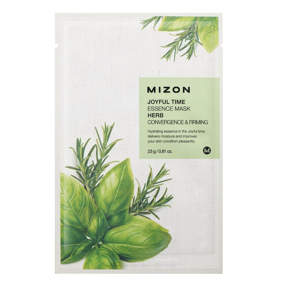 MIZON JOYFUL TIME ESSENCE FACIAL MASK HERB