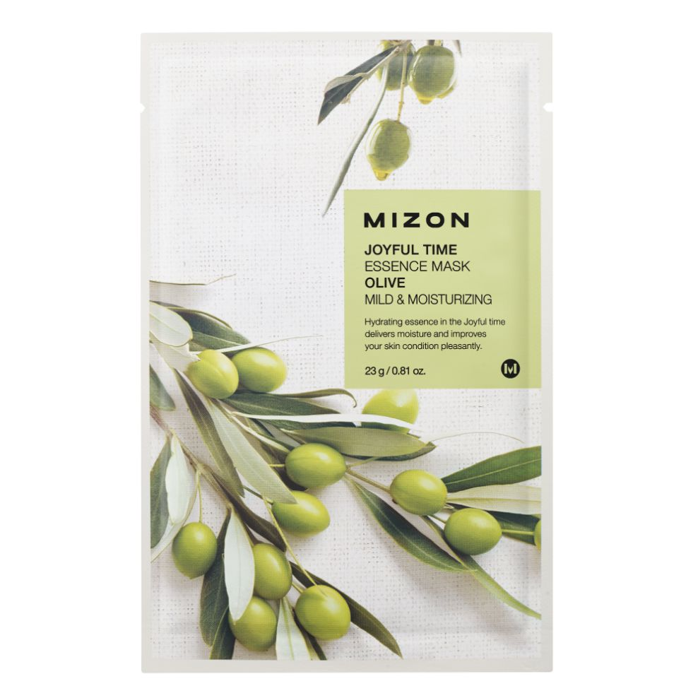 MIZON JOYFUL TIME ESSENCE FACIAL MASK OLIVE