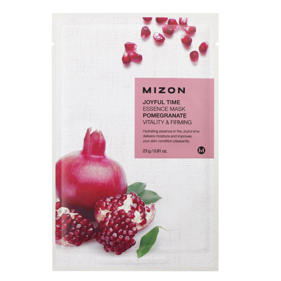MIZON JOYFUL TIME ESSENCE FACIAL MASK POMEGRANATE