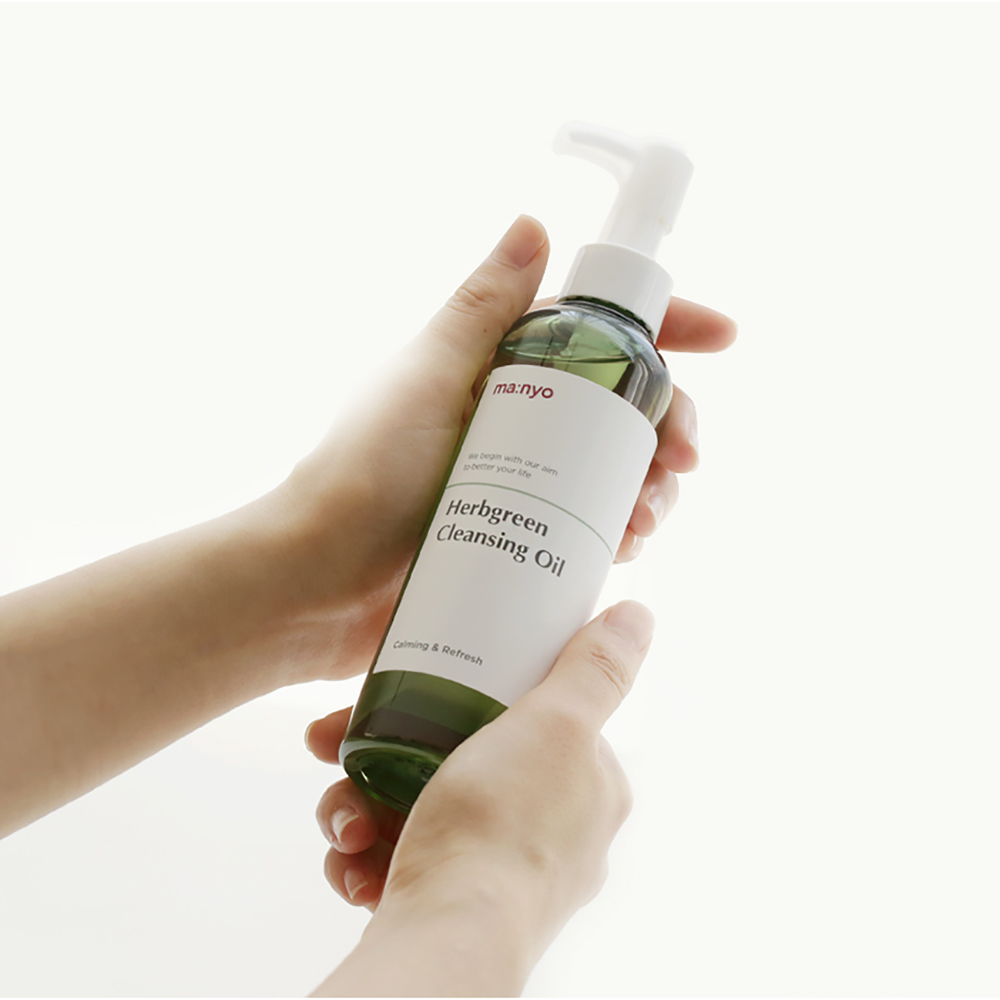 MANYO HERB GREEN CLEANSING OIL