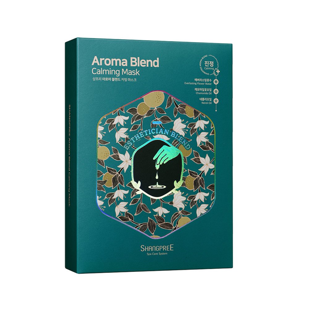 SHANGPREE AROMA BLEND CALMING MASK