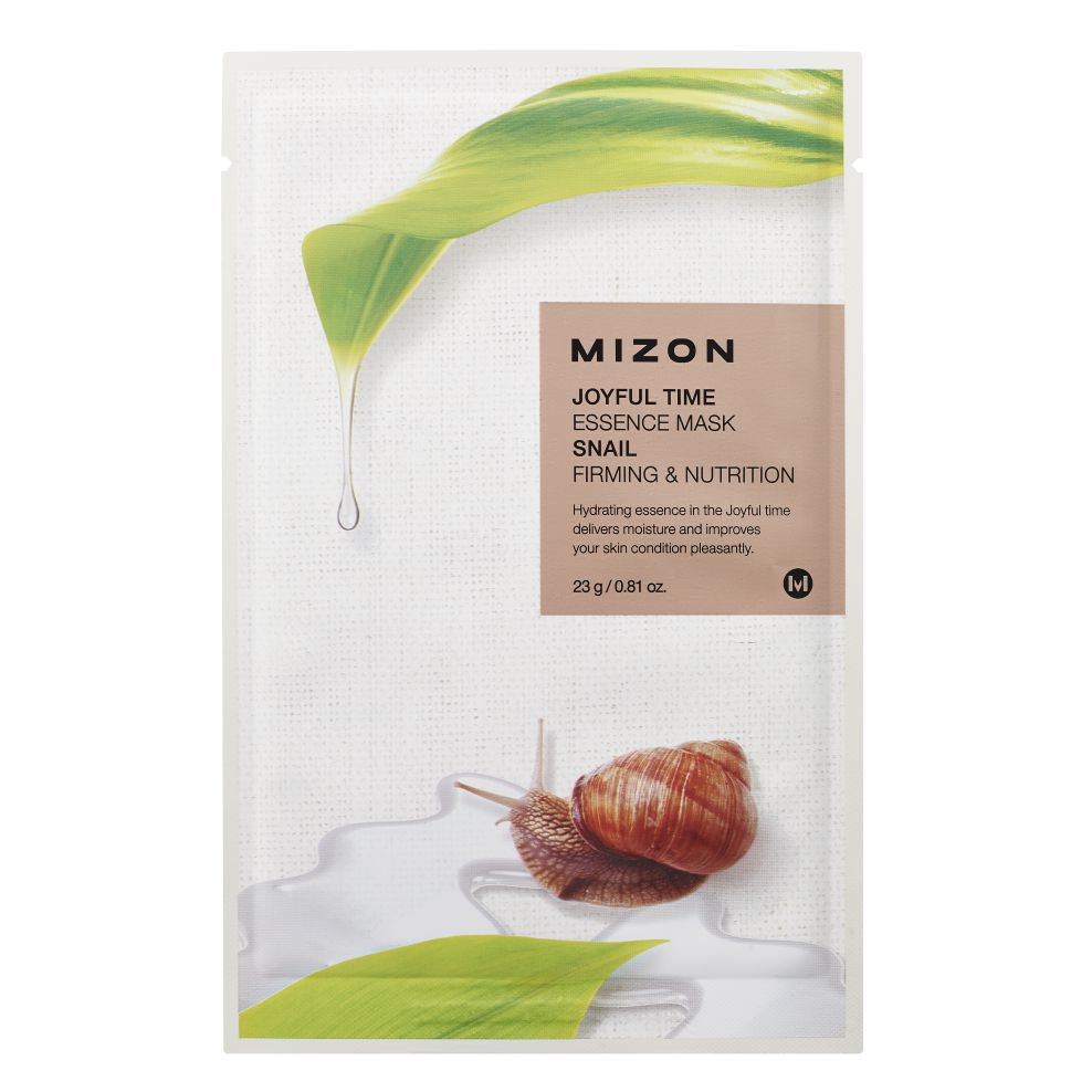 MIZON JOYFUL TIME ESSENCE FACIAL MASK SNAIL