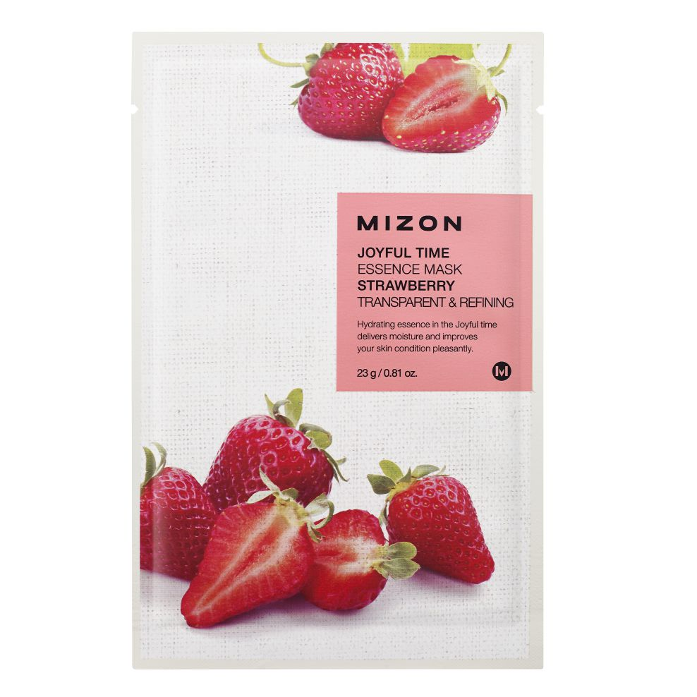 MIZON JOYFUL TIME ESSENCE FACIAL MASK STRAWBERRY
