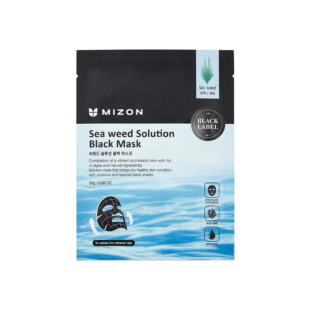 MIZON BLACK MASK SEA WEED SOLUTION