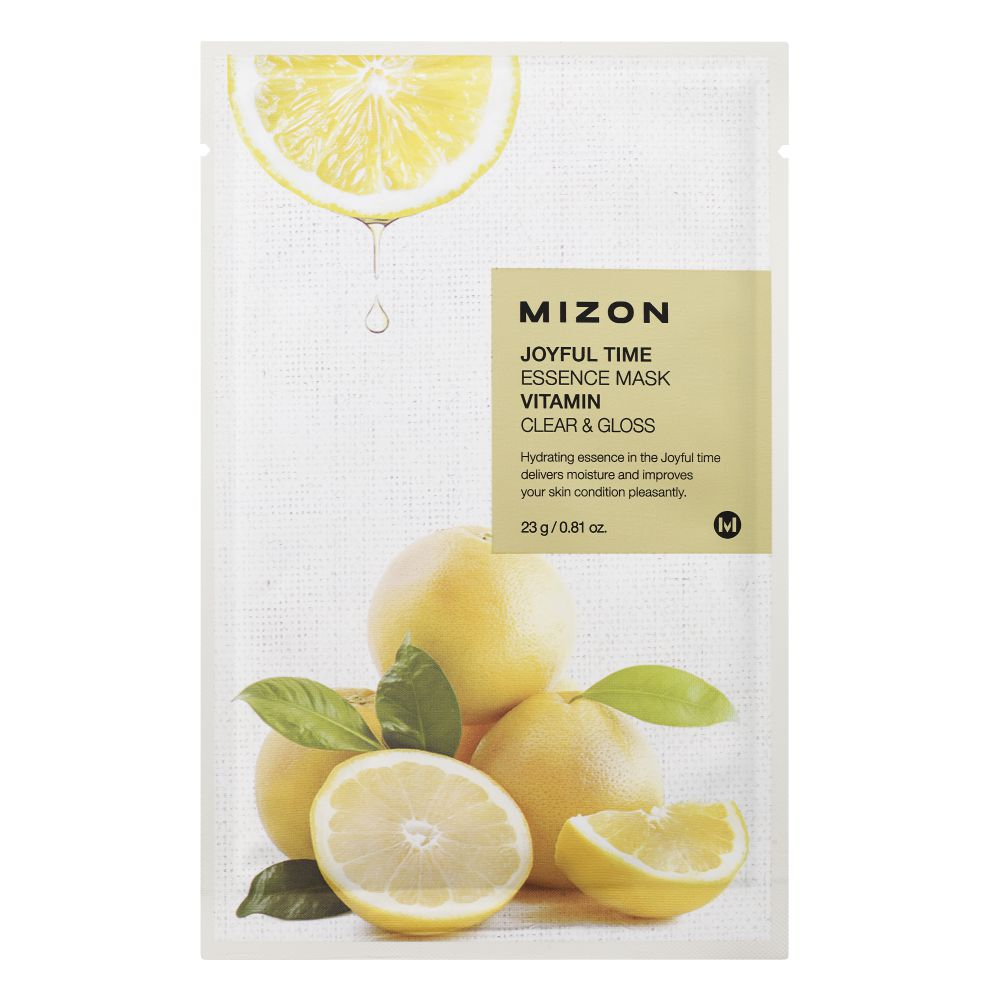 MIZON JOYFUL TIME ESSENCE FACIAL MASK VITAMIN