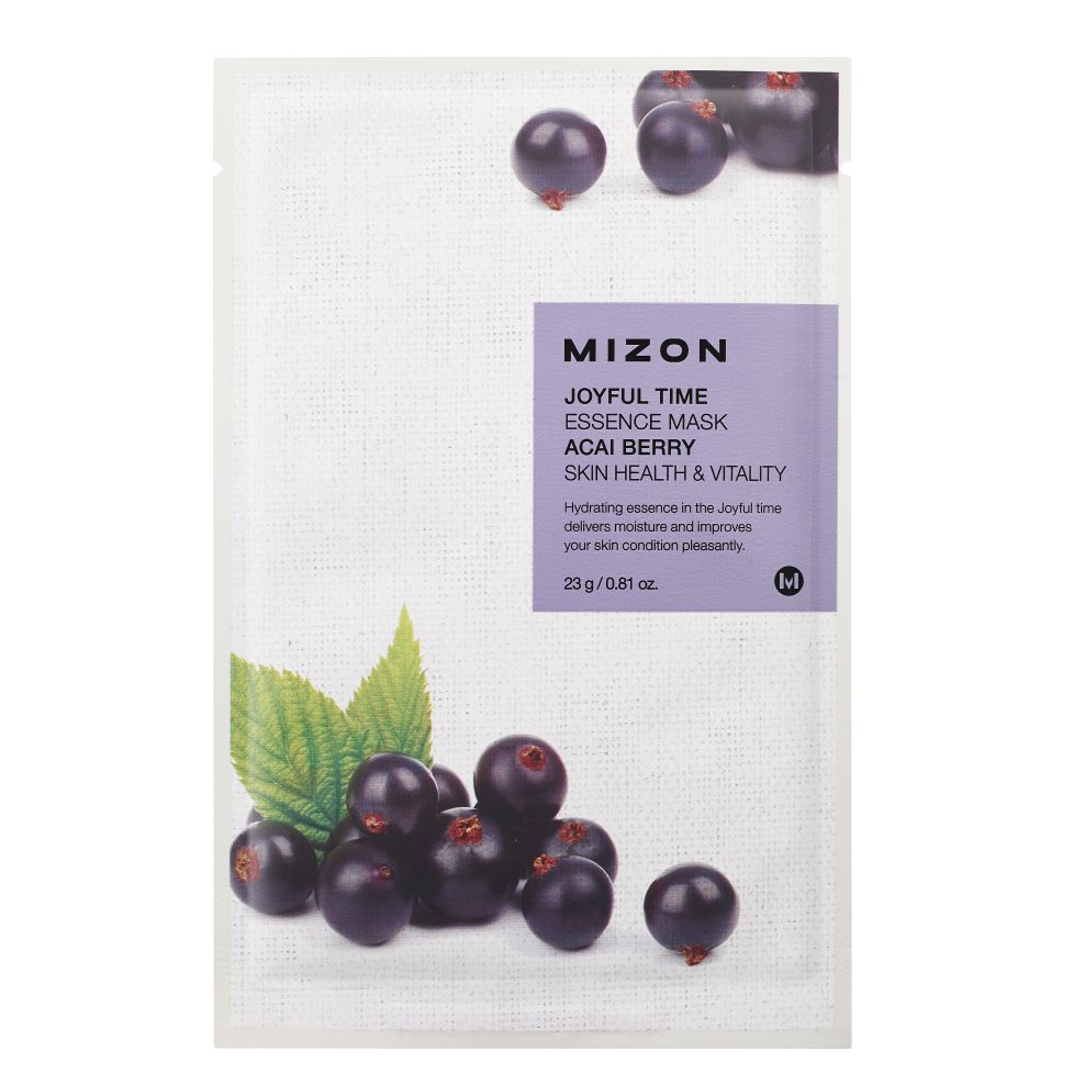 MIZON JOYFUL TIME ESSENCE FACIAL MASK ACAI BERRY