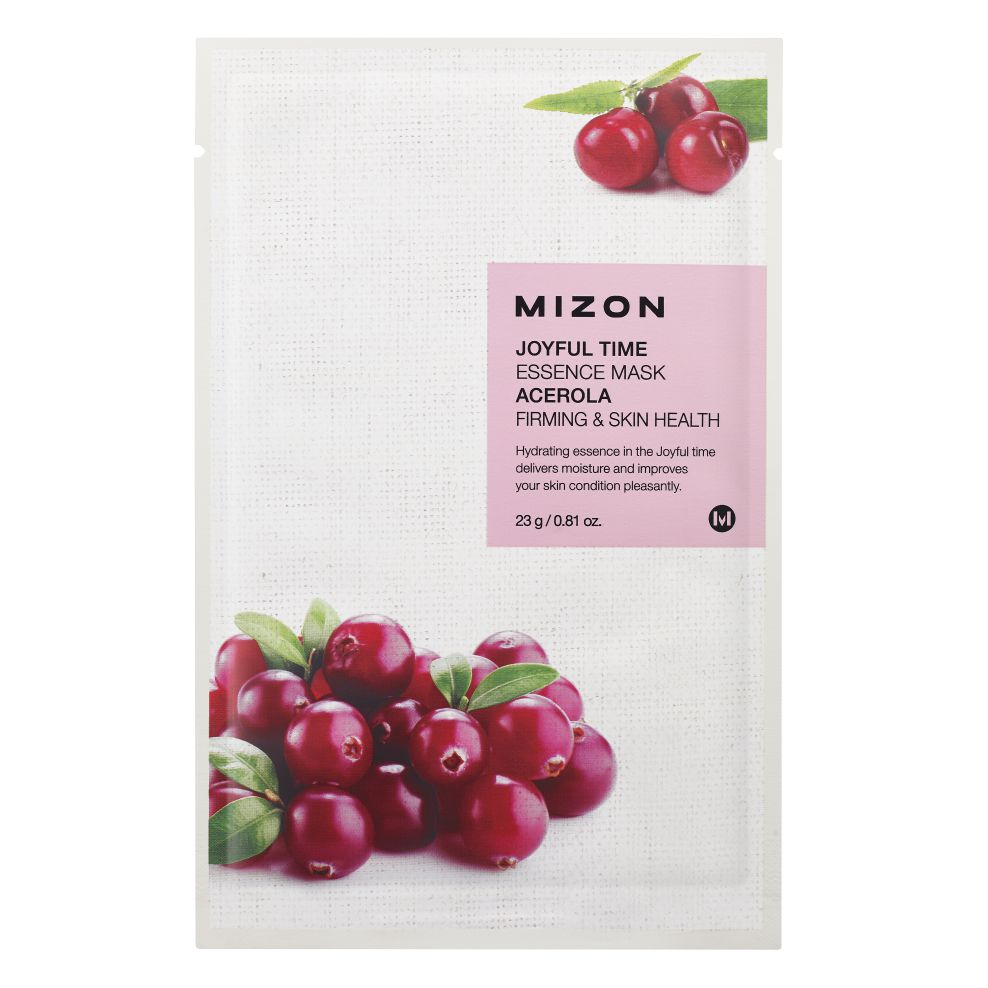 MIZON JOYFUL TIME ESSENCE FACIAL MASK ACEROLA