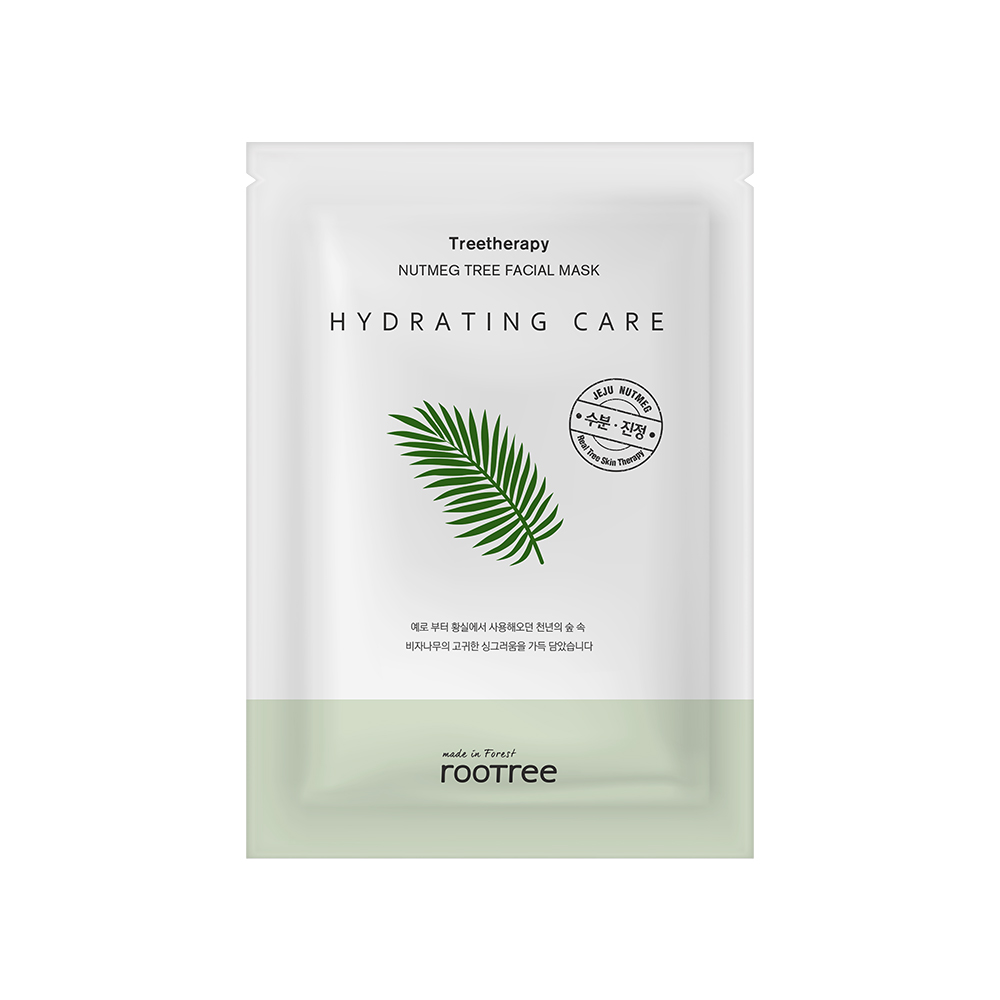 ROOTREE TREETHERAPY NUTMEG [HYDRATING] FACIAL MASK