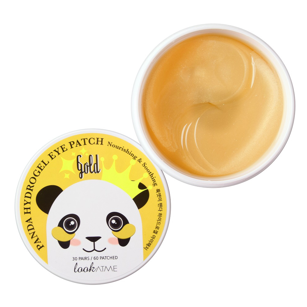 LOOK AT ME PANDA HYDROGEL EYE PATCH GOLD 60 STK