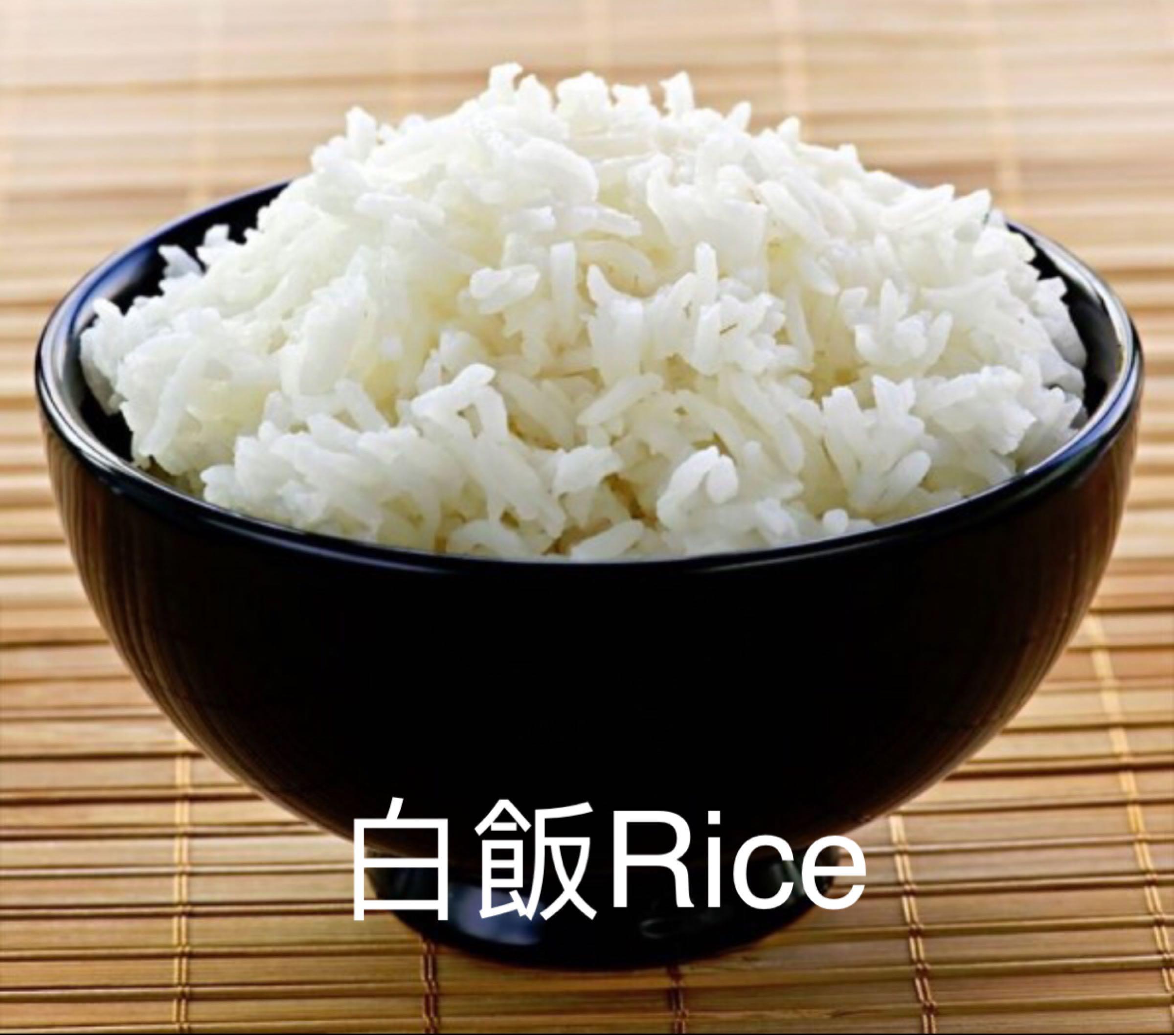 白飯 Plain Rice