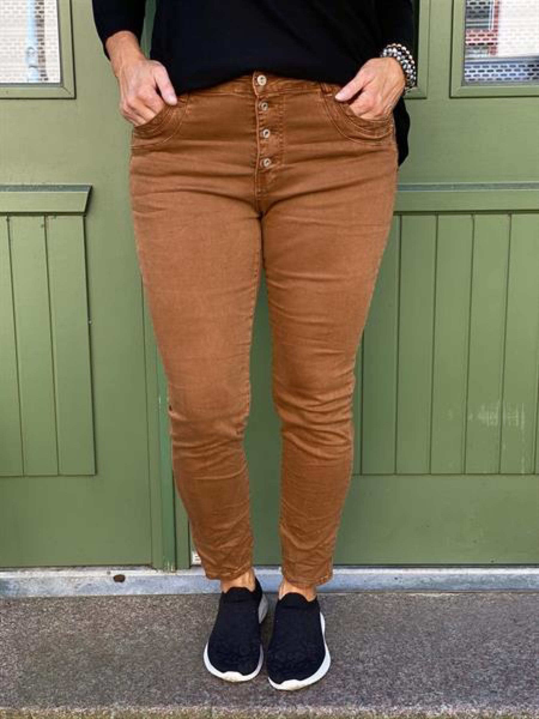 WILMA stretchjeans, rost