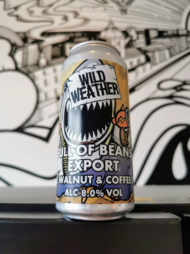 Full Of Beans Export - Maple and Walnut, Wild Weather Ales