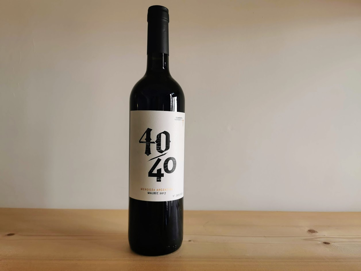 2018 Cuarenta Malbec, 40/40