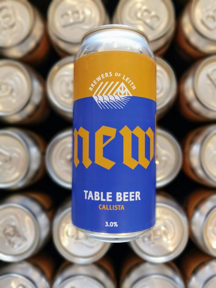 Callista Table Beer, Newbarns
