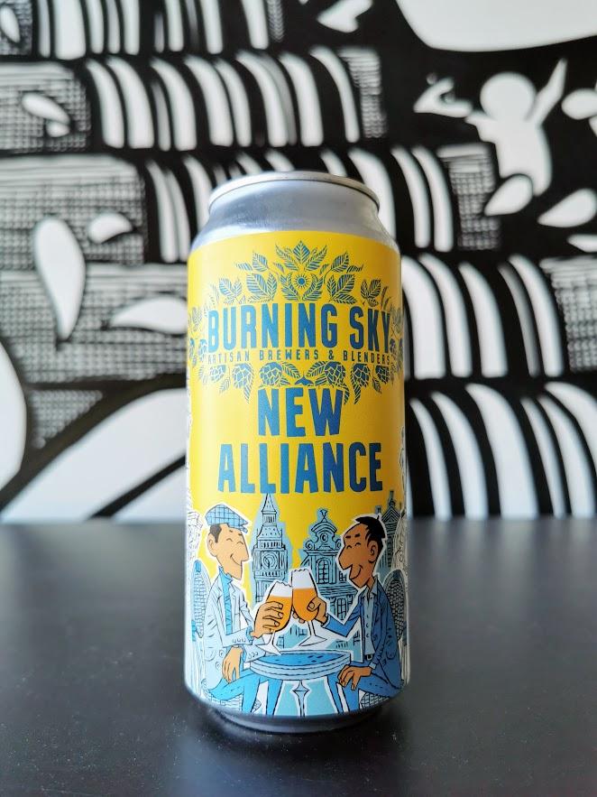 New Alliance, Burning Sky