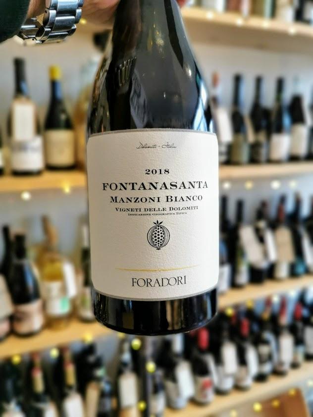 2018 Foradori Fontanasanta Manzoni Bianco