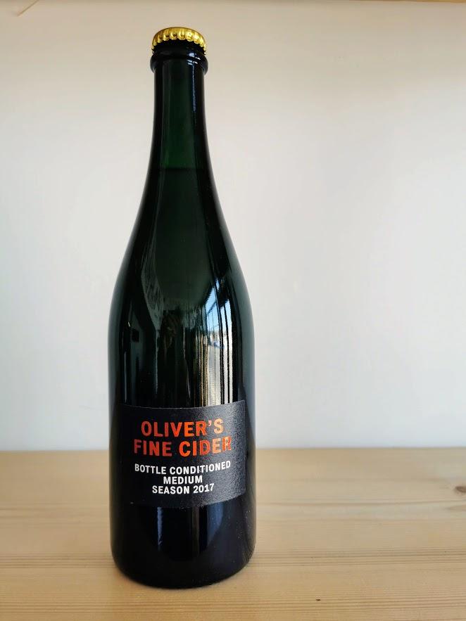 Bottle Conditioned Medium 2017, Olivers Fine Cider