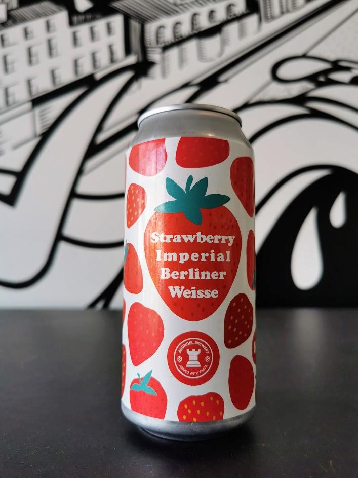 Strawberry Imperial Berliner Weiss, Arundel