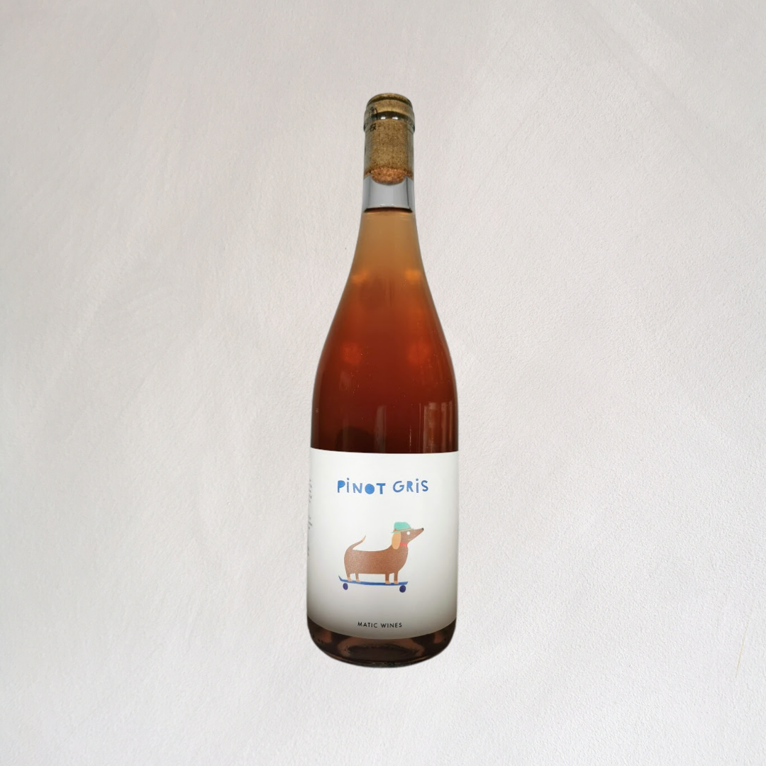 2020 Skin Contact Pinot Grigio, Matic Wines