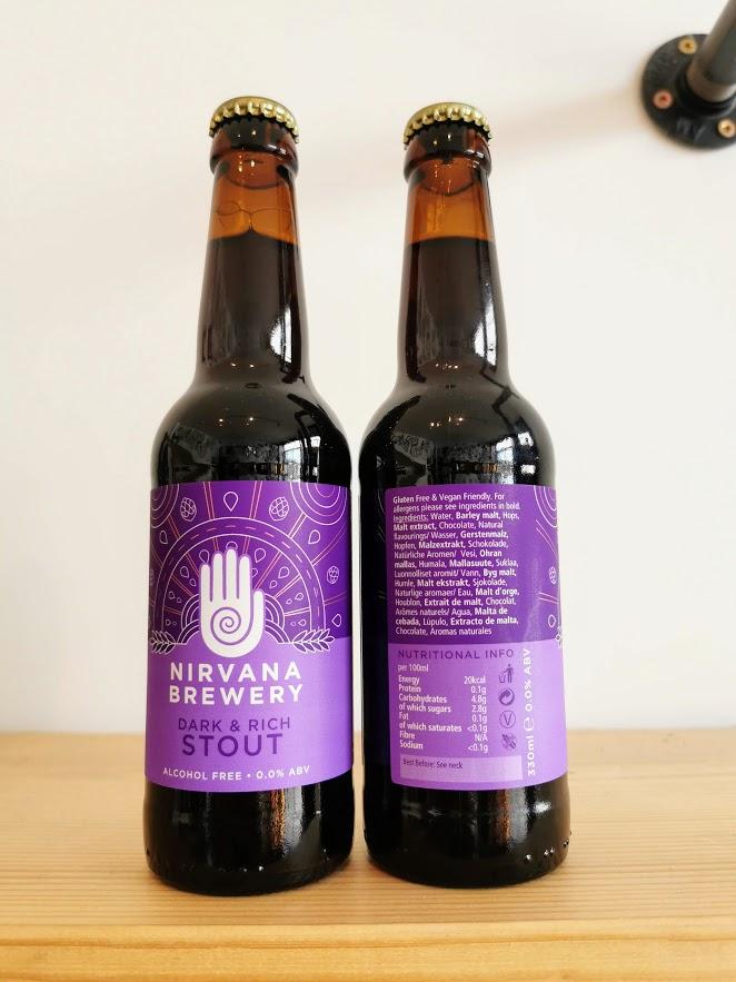 Rich & Dark Stout, Nirvana Brewery