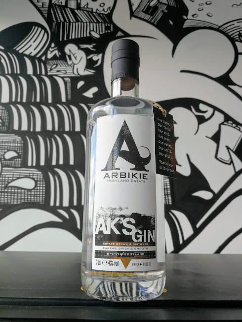 Arbikie, AK's Gin