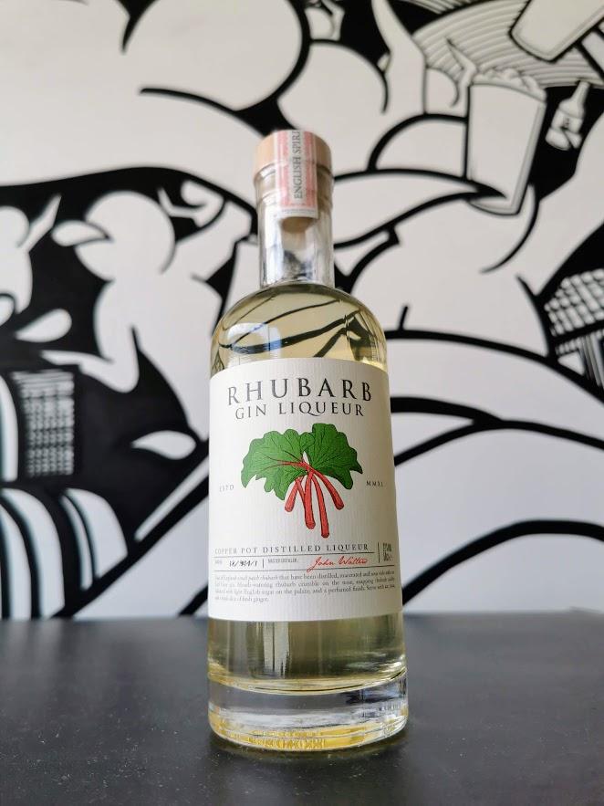Rhubarb Gin Liqueur, English Spirit Distillery