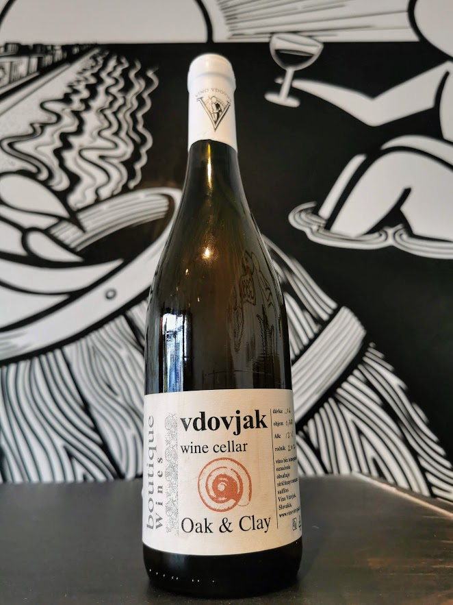 2017 Oak and Clay, Vdovjak Wine