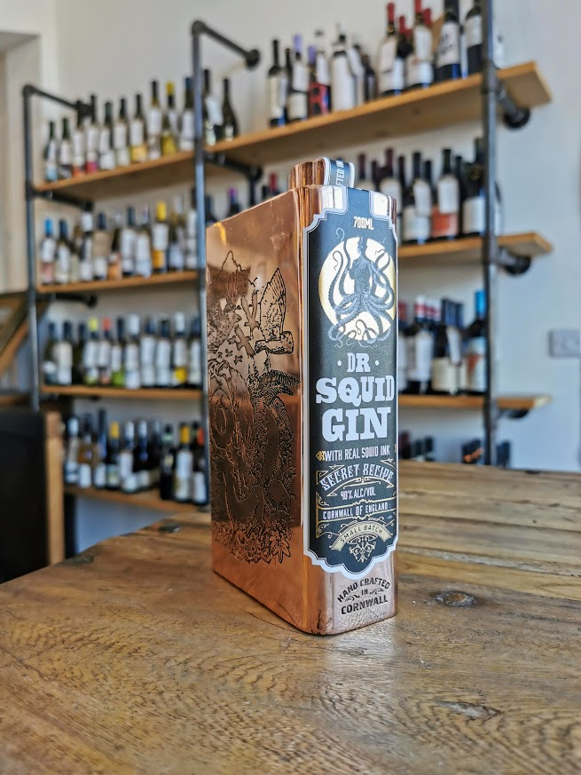 Dr Squid Ink Gin, Pocketful of Stones Distillery