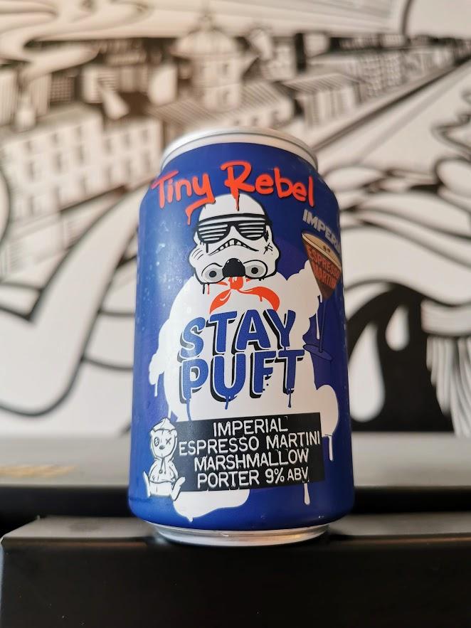 Stay Puft Imperial Espresso Martini, Tiny Rebel