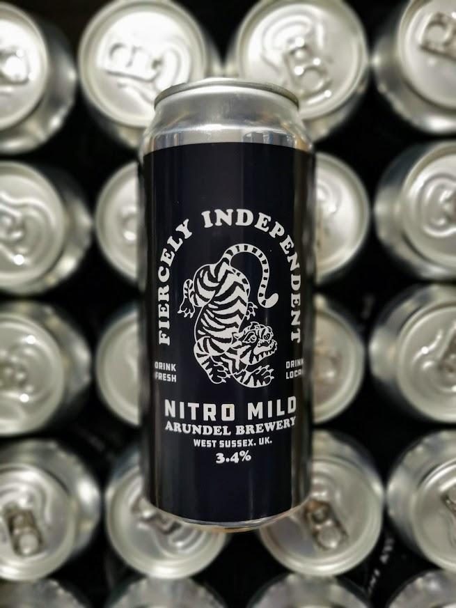 Fiercely Independent Nitro Mild, Arundel Brewery