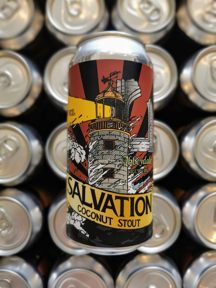 Salvation Coconut Stout, Abbeydale Brewery