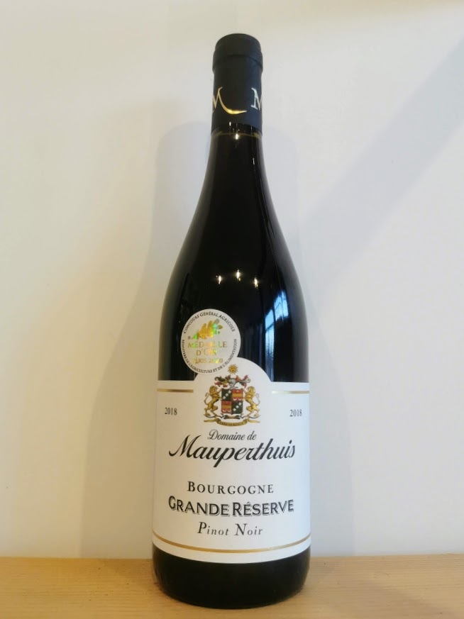 2018 Bourgogne Grande Reserve, Domaine de Mauperthuis