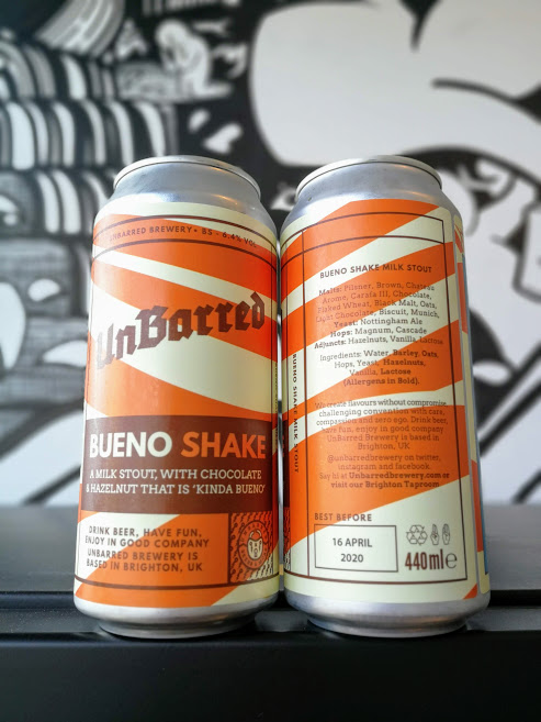 Bueno Shake Stout, UnBarred