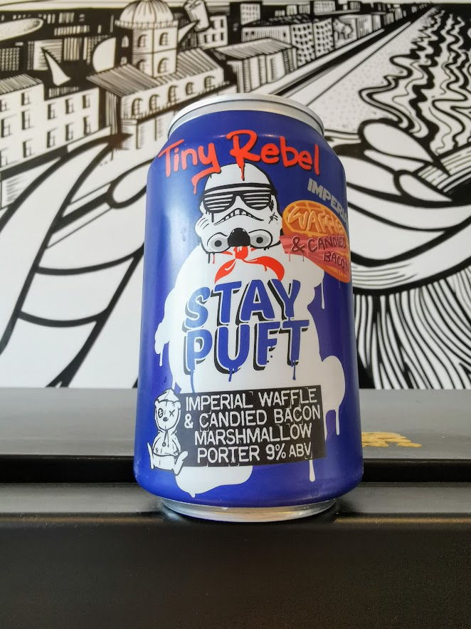 Imperial Waffle & Candied Bacon Stay Puft, Tiny Rebel