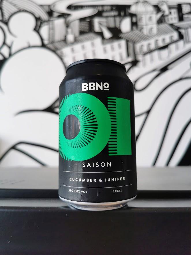 01- Saison Cucumber & Juniper, BBNo