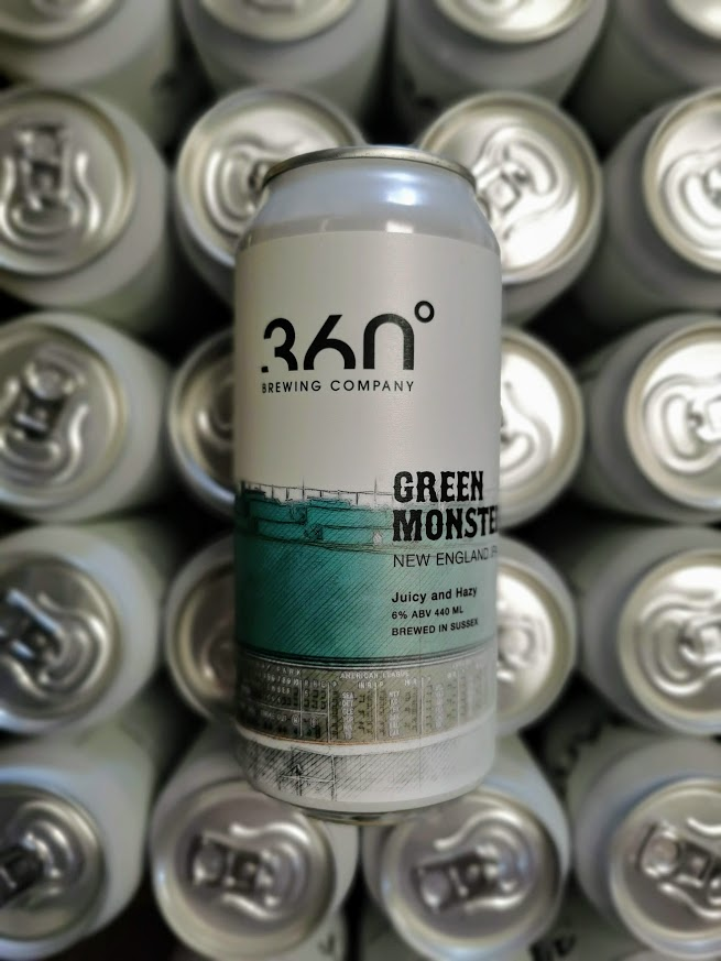 Green Monster NEIPA, 360 Brewing