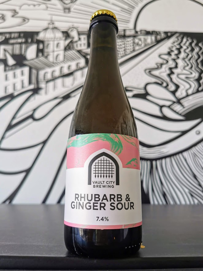 Rhubarb and Ginger Sour, Vault City Brewing