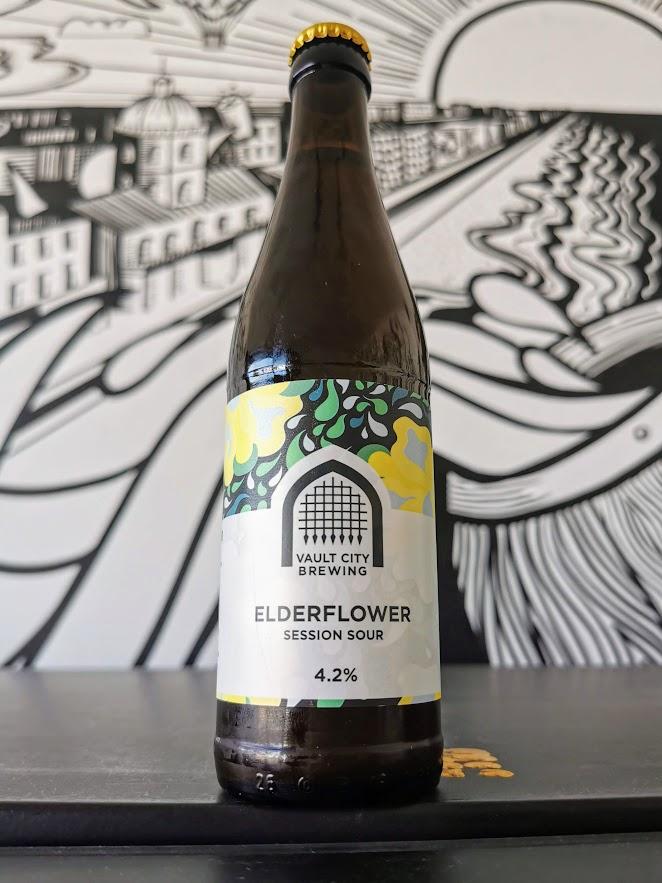 Elderflower Session Sour, Vault City Brewing