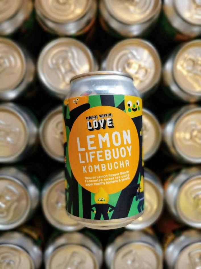 Lemon Lifebuoy Kombucha, Only With Love